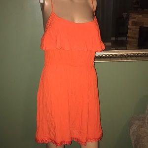 Charlotte Russe Orange 🍊 dress